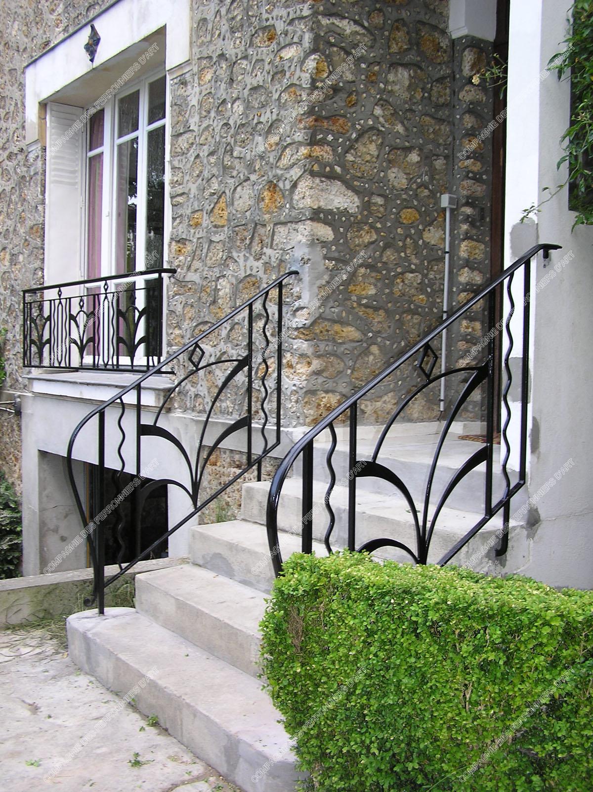 Rampe escalier exterieur fer forge latest rampe escalier for Rampe escalier exterieur fer