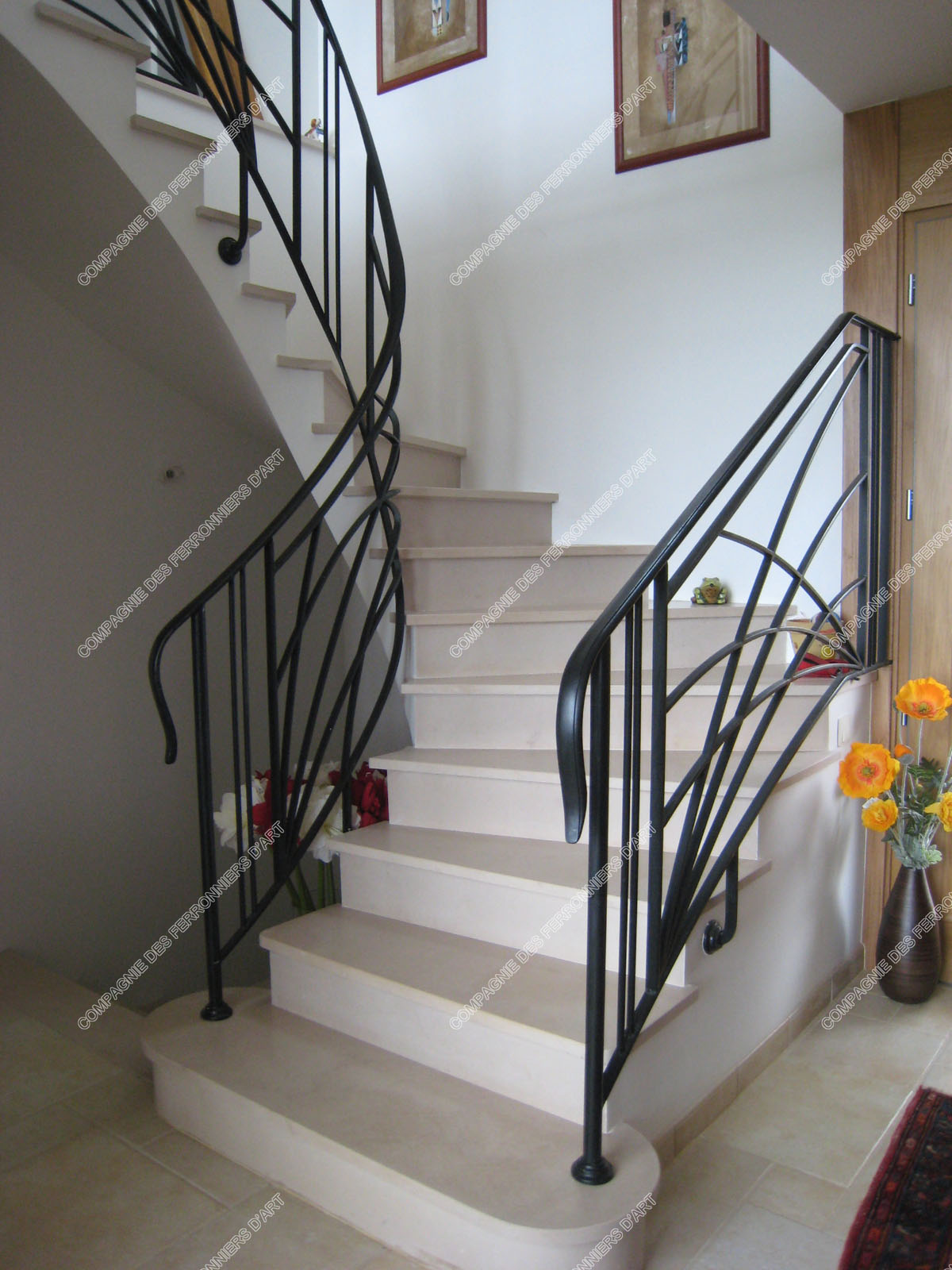 d parts de rampes. Black Bedroom Furniture Sets. Home Design Ideas