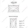 grilles en fer forg de d fense modernes mod le gdm08. Black Bedroom Furniture Sets. Home Design Ideas
