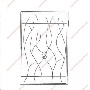 grilles en fer forg grilles de d fense modernes mod le. Black Bedroom Furniture Sets. Home Design Ideas