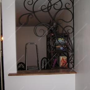 grilles en fer forg grilles d coratives mod le gor02 volutes liane. Black Bedroom Furniture Sets. Home Design Ideas