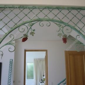 grilles en fer forg grilles d coratives mod le gor05 baroque. Black Bedroom Furniture Sets. Home Design Ideas