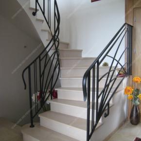 Rampes D Escalier En Fer Forge Cie Des Ferronniers D Art