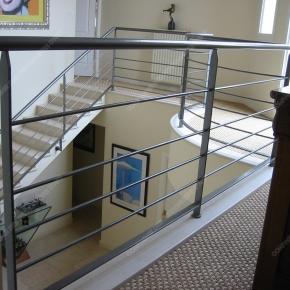 rampes d 39 escalier en fer forg style design fonctionnel mod le bateau. Black Bedroom Furniture Sets. Home Design Ideas