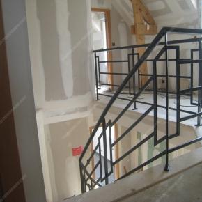 Rampes D 39 Escalier En Fer Forg Style Design Fonctionnel Mod Le Bateau Rectangles