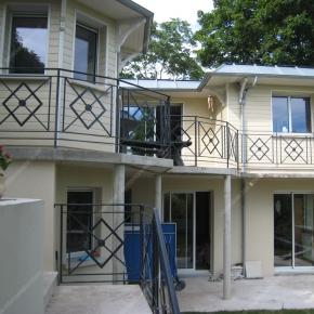 Garde corps balcon moderne